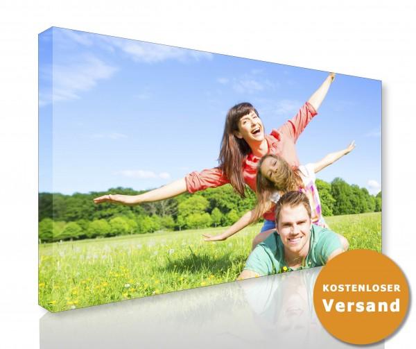 Bild auf Fotoleinwand 100 x 100 cm farbig mit Keilrahmen